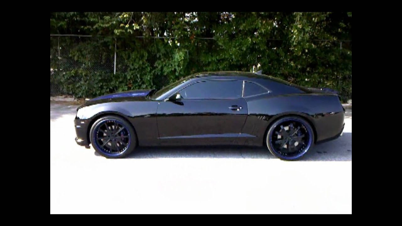 Young Jeezy S Black On Blue 2010 Camaro Courtesy Of Cartunes