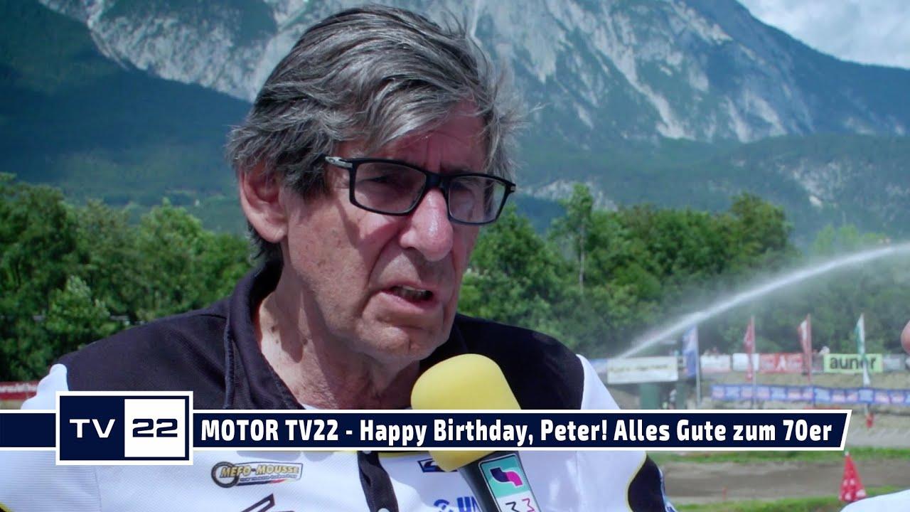 MOTOR TV22: Happy Birthday, Peter! Alles Gute zum 70er