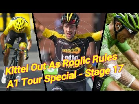 Aru Cracks, Kittel's out & Roglic Wins Big| The A1 Tour Special Stage 17