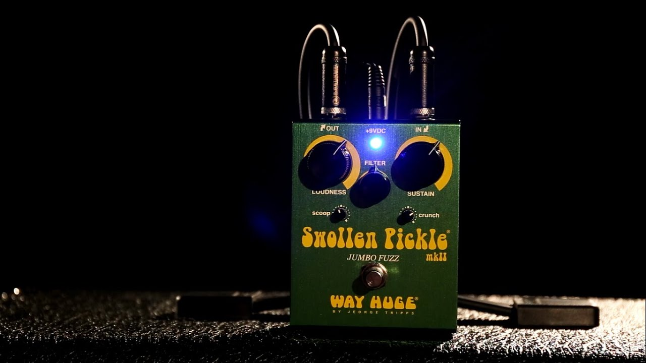 way huge whe401 swollen pickle fuzz guitar effects pedal youtube. Black Bedroom Furniture Sets. Home Design Ideas