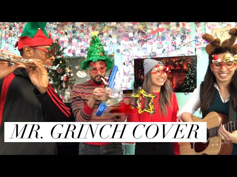 COSTCO PIANO GIRL, SHIR MICHAEL, RANDY MCCLURE, & JAMES BROOKS- Mr. Grinch COVER