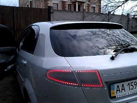 led фары на chevrolet lacetti