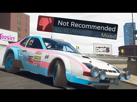 THE MIXED LAUNCH OF DIRT 5…