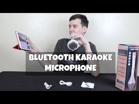 K1 Bluetooth Karaoke Microphone Speaker