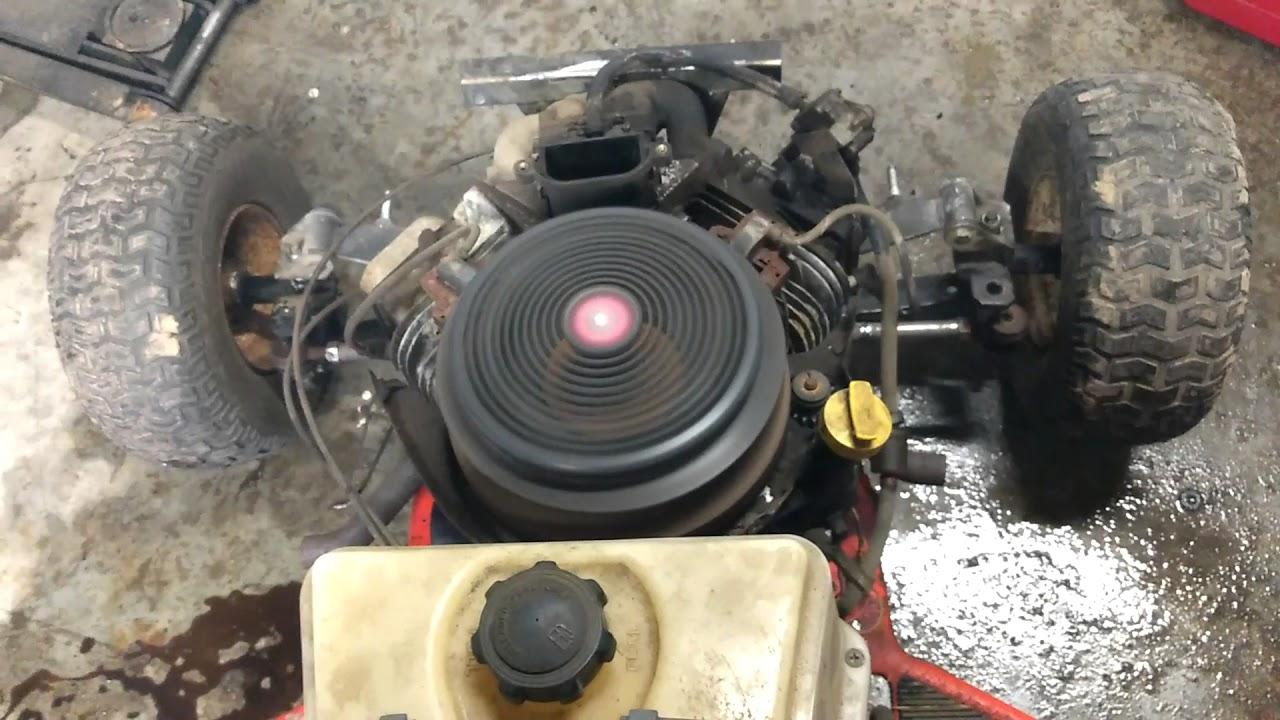 medium resolution of 20hp scott s race mower build