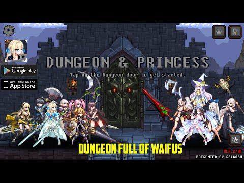 DUNGEON PRINCESS !! DUNGEON CRAWLER FULL OF WAIFUS