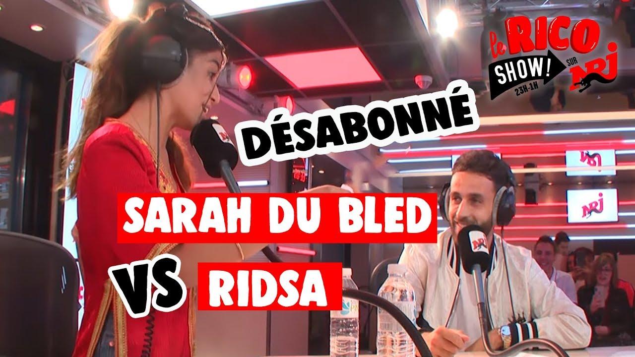 """Sarah Du Bled feat Ridsa """"Déshériter"""" - Le Rico Show sur NRJ"""
