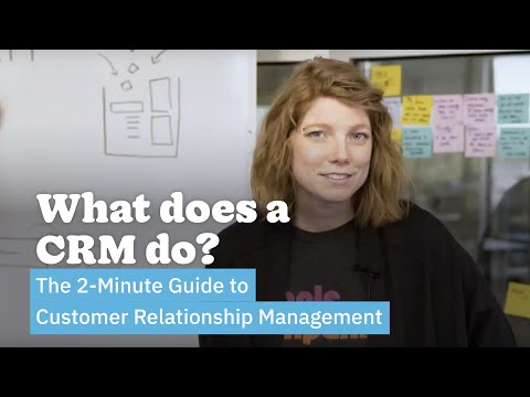 What Does a CRM Do? | The 2-Minute Guide to Customer Relationship Management