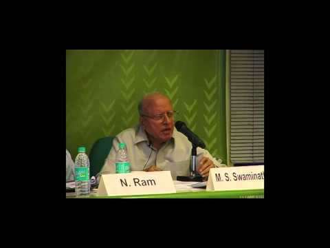 Prof MS Swaminathan Speech in FAS Website Launch