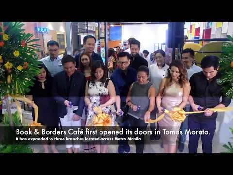 Book & Borders Café Manhattan Grand Opening by megabitescomph