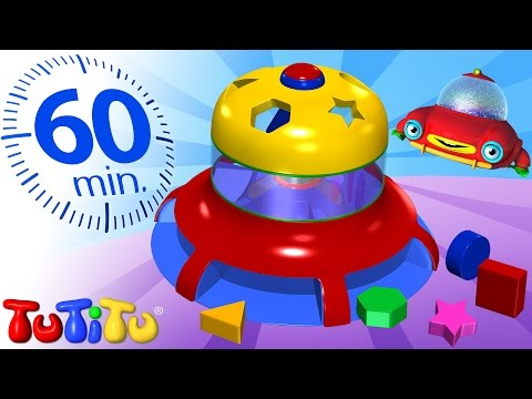 TuTiTu Specials | Shape Sorter Toy | And Other Popular Learning Toys  | 1 Hour Special
