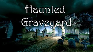 Haunted Graveyard   Medieval Fantasy Horror Ambience and Music