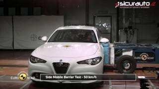 Alfa Romeo Giulia - 2016 - Euro NCAP Crash Test