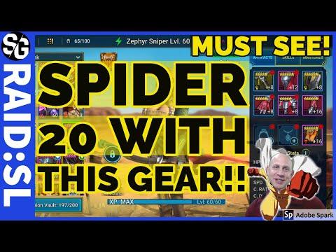 RAID SHADOW LEGENDS | SPIDERS 20 CLOSE TO ALL RARE!