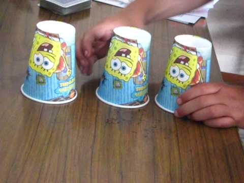 3 cups 1 ball