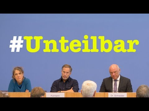 Warum eine #Unteilbar Demo? - Bundespressekonferenz vom 10. Oktober 2018