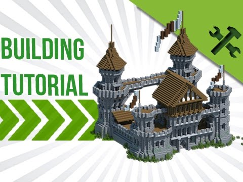 Minecraft: How To Build A Medieval Castle - Build Tutorial
