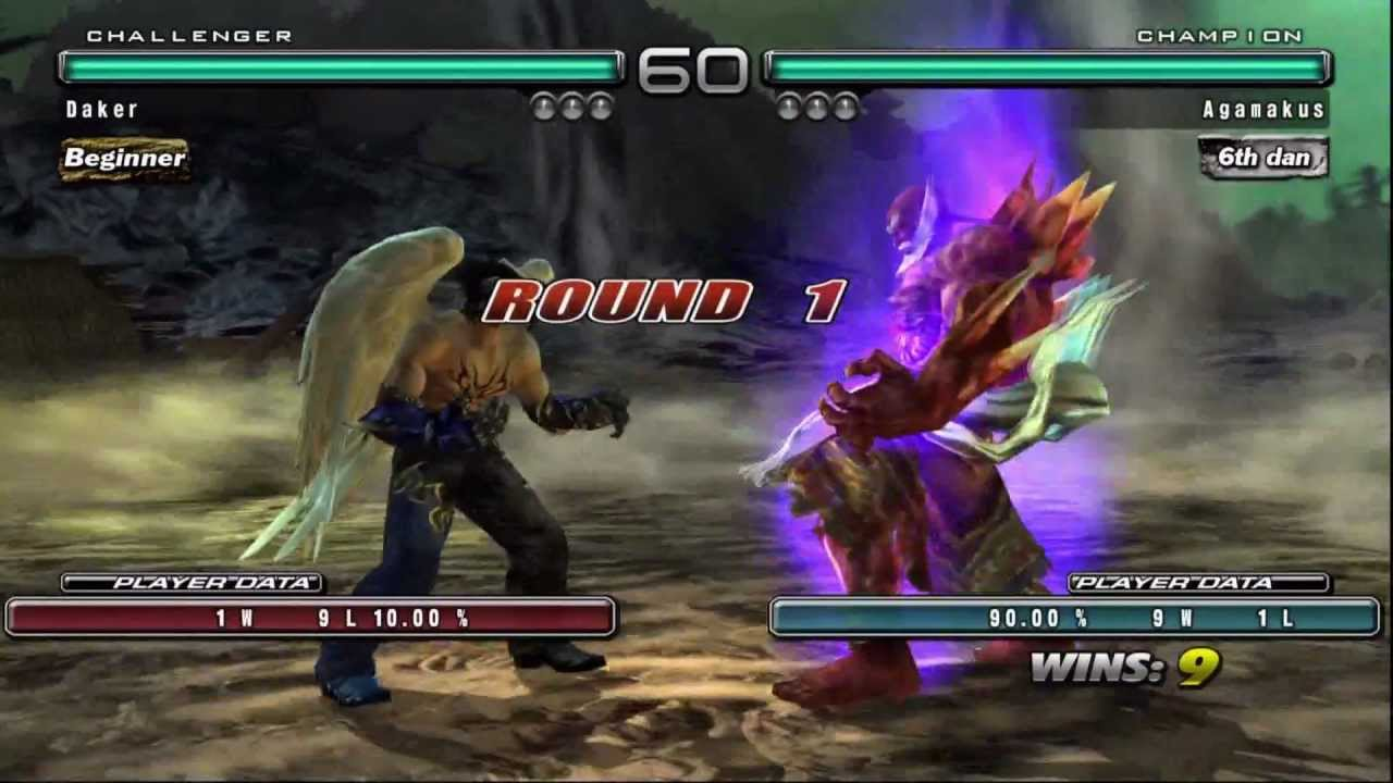 Tekken 5 Dr Devil Jin Vs Jinpachi Youtube