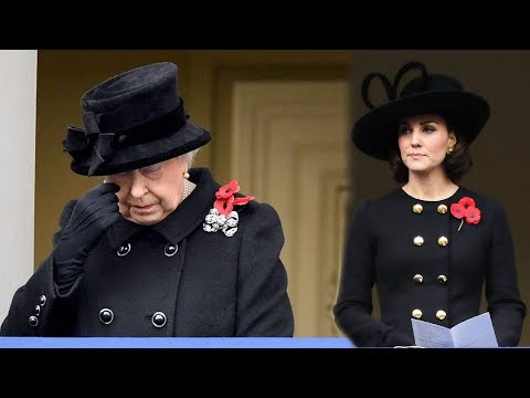This is why Kate Middleton and The Queen wear THREE poppies