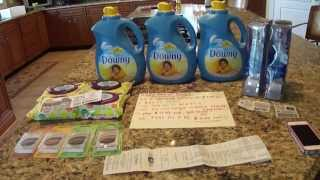 Target Couponing Haul 6/5----Lot's of FREEBIES and Cheap DOWNY :) Thumbnail