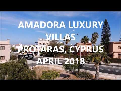 AMADORA LUXURY VILLAS PROTARAS CYPRUS APRIL 2018