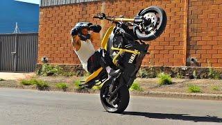 R1 XT660 FAZER 250 LANDER #Wheeling