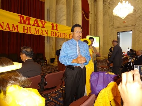 Vietnam Human Rights Day on May 11, 2015 at Russell Senate Office Building, Washington, DC
