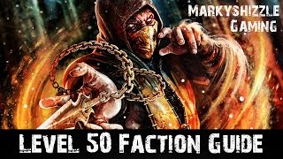 MKX - Fastest Faction XP Method! 800FXP in 10 Seconds! No Loyalty Guide Mortal Kombat X