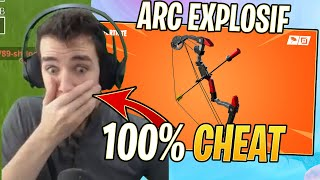 I DISCOVER THE NEW EXPLOSIVE BOW 100% CHEAT - THE BEST WEAPON IN THE GAME! Fortnite Season 8