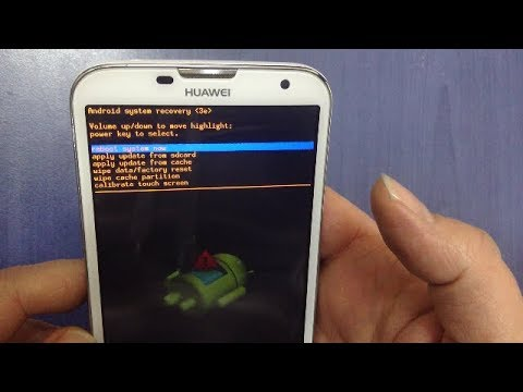 HUAWEI Ascend G730 Hard reset , Remove the forgotten password