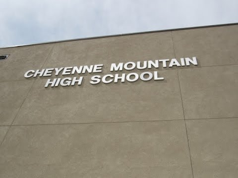 Getting On top Of Cheyenne Mountain High school!!!!!