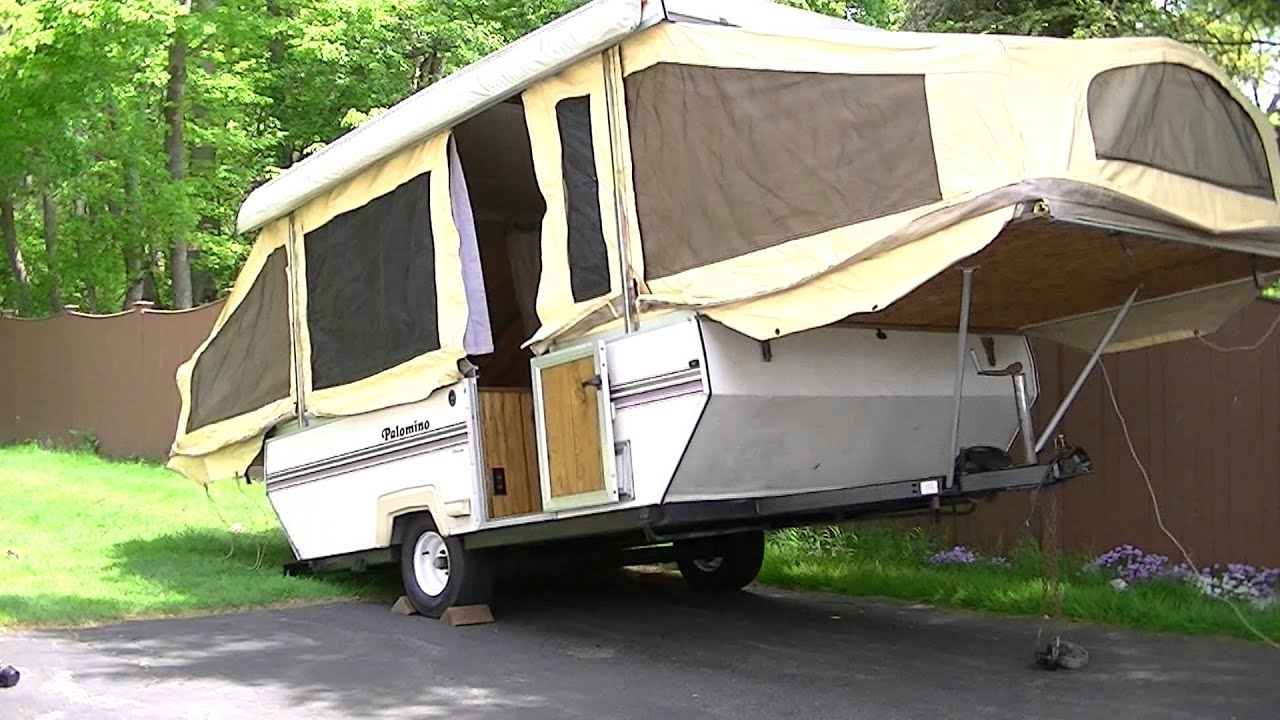 Camper Setup (how NOT to do it)