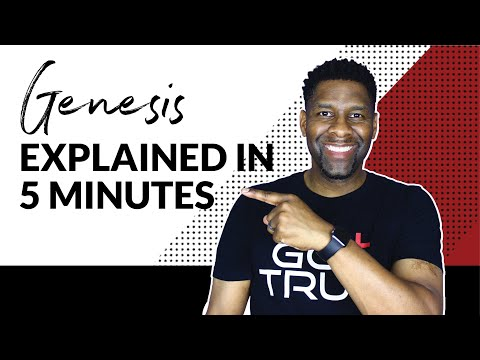 BOOK OF GENESIS EXPLAINED IN FIVE MINUTES! | BOOK REVIEW