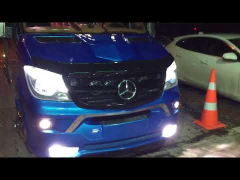Mercedes Sprinter 2018 Bi Xenon Mercek Kayar Led Simsek Led Boom Garage Ankara
