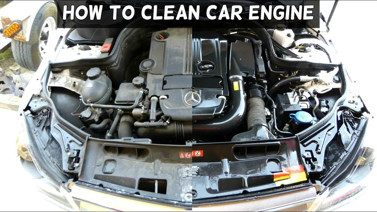wash engine demonstrated  mercedes youtube