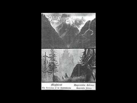 Mightiest & Depressive Silence - The Recreation of the Shadowlands (1995) [Split]