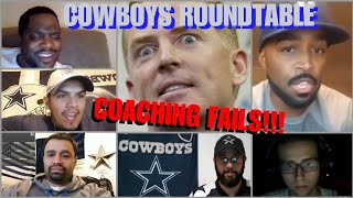☆SPECIAL☆ ROUNDTABLE DISCUSSION: Coaching Fails... with Dallas Cowboys Fan 1980!!!