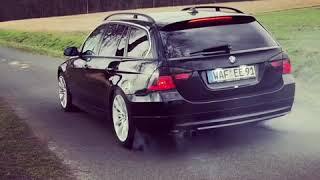 BMW 330D Burnout E91