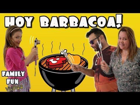 Barbacoa familiar 🍗🍖 Family Fun Vlogs - Los juguetes de Arantxa