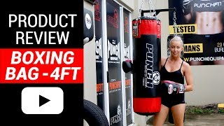 Boxing Bag Review - 4 Foot Punching Bag | Punch Equipment®
