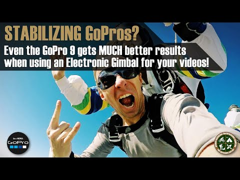 InKee Falcon Electronic Gimbal for GoPro Action Cams