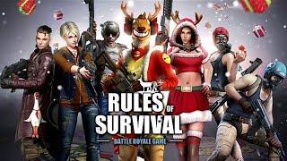 AFTER DARK SANTA CLAUS GRIND! (Rules of Survival RoSanta Event)