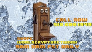 Sunday Morning Bitcoin Talk Show #LIVE (Call 518-600-1949, Skype WorldCryptoNetwork)