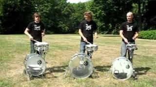 Playmobeat Drum Trio - Vídeo extra ao da semana Portal Daniel Batera
