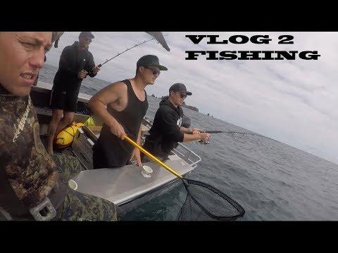 MY 1ST FISHING TRIP...SICK AF
