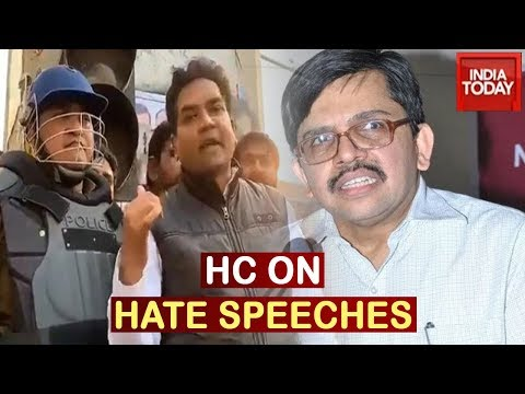 Delhi Top Cop To Reply Before HC On Hate Speeches; Congress Slams Centre Over Transfer Of HC Judge