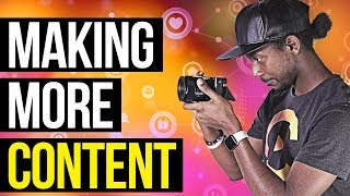 MAKE MORE CONTENT (Motivational Rant)