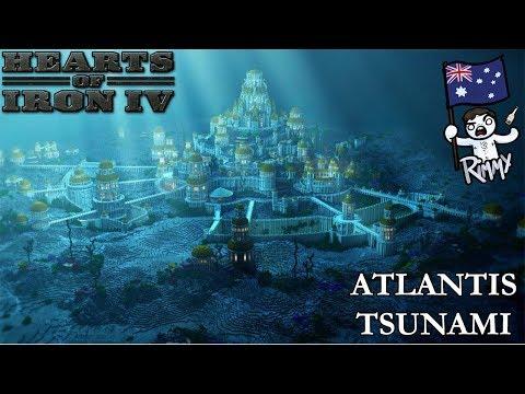 HOI4 Atlantis Rises - Drowning America
