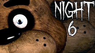 Five nights at freddy's - night 6 complete - craziest ending