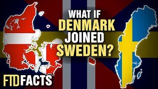 What If DENMARK and SWEDEN Became One Country?